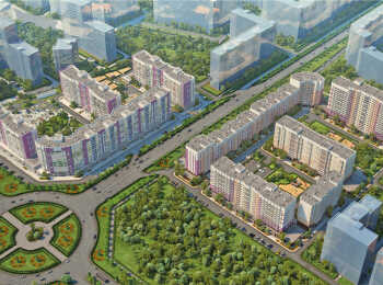 План застройки жилого комплекса